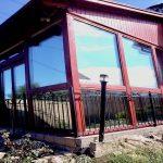 hővédő ablakfólia télikert