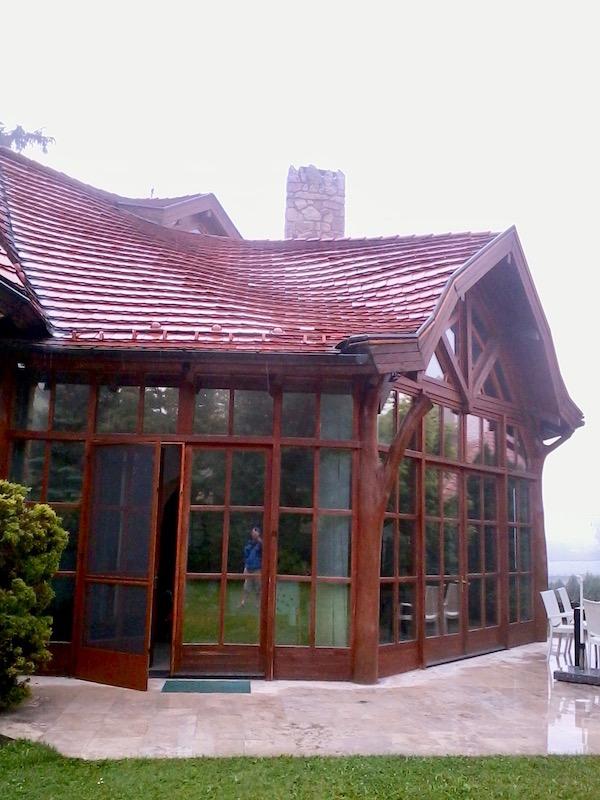 hővédő ablakfólia Makovecz