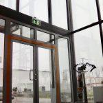hővédő ablakfólia vészkijáratra