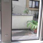 biztonsági ablakfólia lépcső