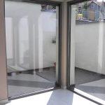biztonsági ablakfólia sarok