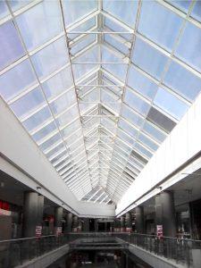 Bevásárlóközpont ablakfólia
