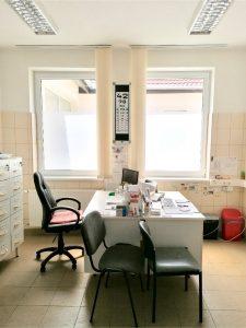 orvosi rendelő ablakfólia